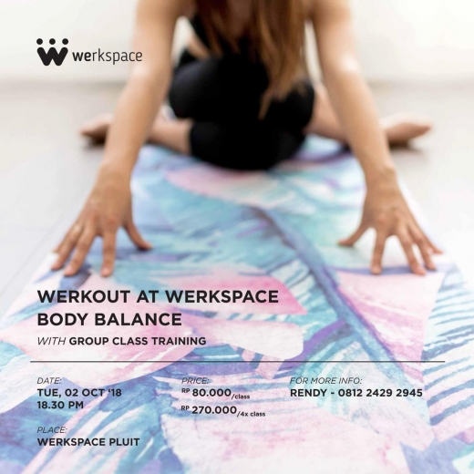 Werkout at Werkspace