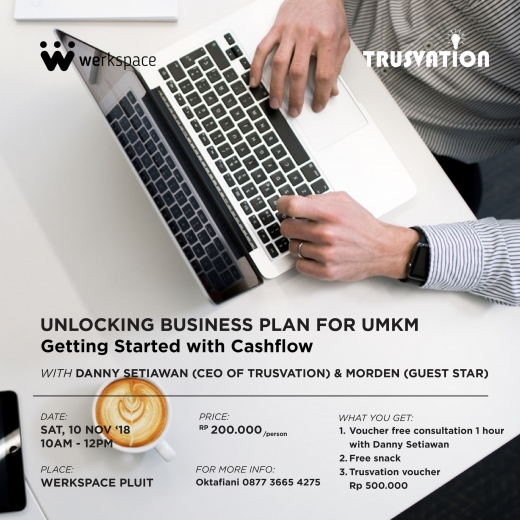 Unlocking business plan for UMKM, getting started with cashflow