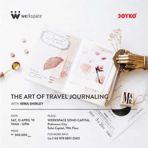 THE ART OF TRAVEL JOURNALING
